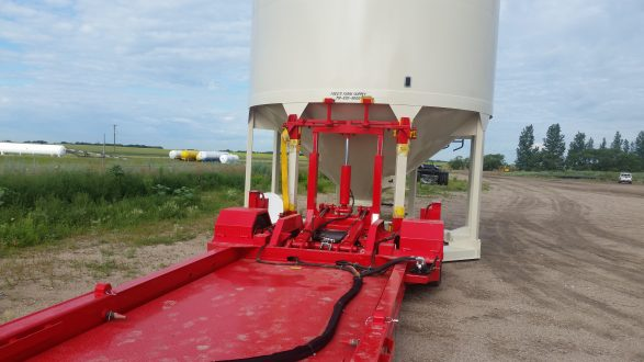 Hopper Bin Moving Trailer – Cancade Company Ltd  Innovation