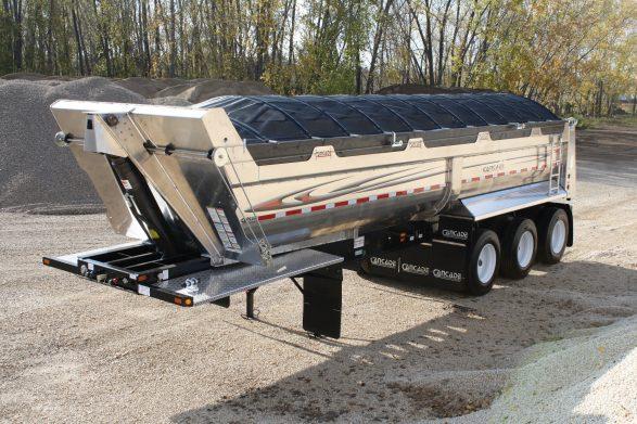 Electric Trailer Dolly >> Aluminum Gravel End Dump – Cancade Company Ltd. Innovation ...