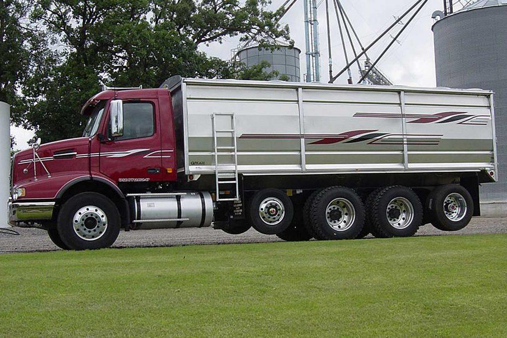 Electric Trailer Dolly >> Aluminum Grain Box – Cancade Company Ltd. Innovation ...