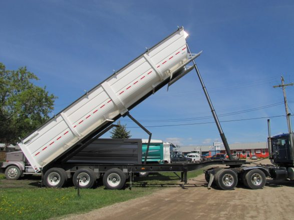 Steel Ag End Dump Trailer Cancade Company Ltd