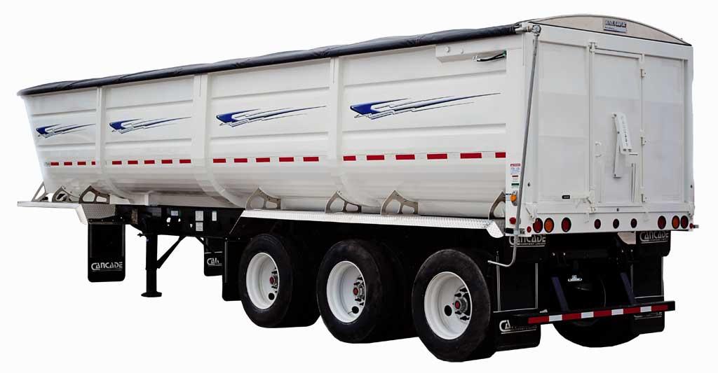 Steel Ag End Dump Trailer Cancade Company Ltd